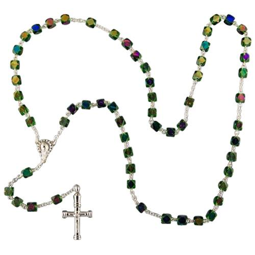 Iridescent Cremation Rosary