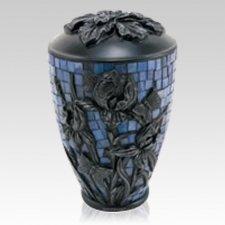 Iris Garden Cremation Urn