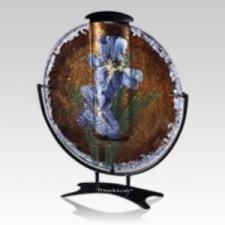 Irises Keepsake Cremation Urn