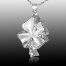 Irish Clover Cremation Pendant