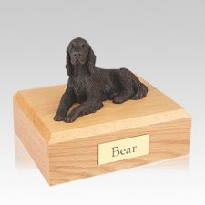 Irish Setter Bronze Large Dog Urn