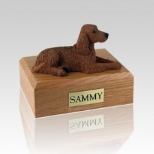 Irish Setter Large Dog Urn
