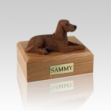 Irish Setter Medium Dog Urn