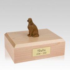 Irish Setter Sitting Large Dog Urn