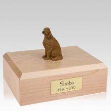 Irish Setter Sitting X Large Dog Urn