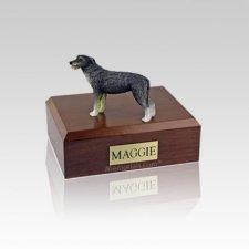 Irish Wolfhound Small Dog Urn