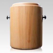 Iron Wood Cremation Urn
