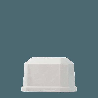 Ivory Prism Marble Keepsake Urn