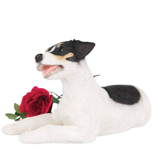 Jack Russell Dog Urn