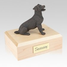 Jack Russell Terrier Bronze Large Dog Urn