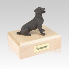 Jack Russell Terrier Bronze Medium Dog Urn