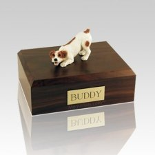 Jack Russell Terrier Brown Medium Dog Urn