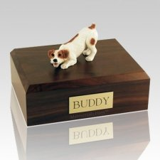 Jack Russell Terrier Brown Dog Urns