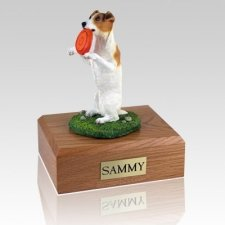 Jack Russell Terrier Playing X Large Dog Urn