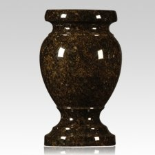 Jade Green Granite Vase