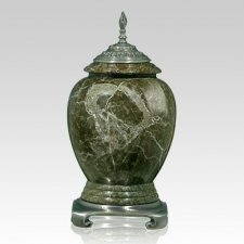 Jade Pewter Marble Cremation Urn