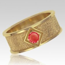 January Birthstone 14k Yellow Gold Ring Print Keepsake