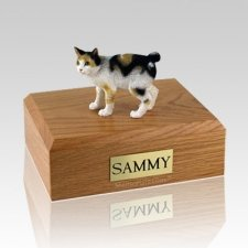 Japanese Bobtail Tort Large Cat Cremation Urn