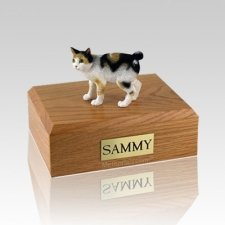 Japanese Bobtail Tort Medium Cat Cremation Urn