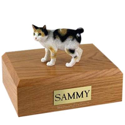 Japanese Bobtail Tort X Large Cat CremationUrn