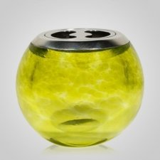 Jardin Glass Keepsake Urn