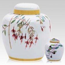 Jardin Porcelain Cremation Urns