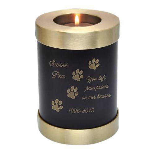 Java Candle Pet Cremation Urn