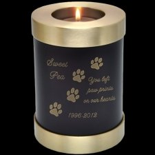 Java Candle Pet Keepsake Cremation Urn