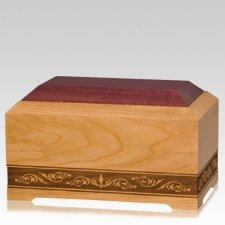 Jazz Wood Pet Cremation Urn