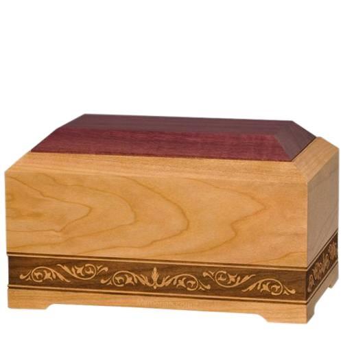 Jazz Wood Pet Cremation Urn