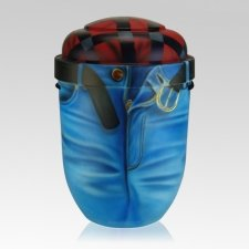 Jeans Biodegradable Urn