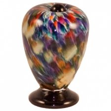Jester Glass Pet Keepsake Urn