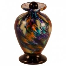 Jewel Glass Pet Keepsake Urn