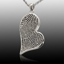 Joined Heart Cremation Print Keepsakes