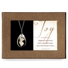 Joy Gift Boxed Angel Pendant