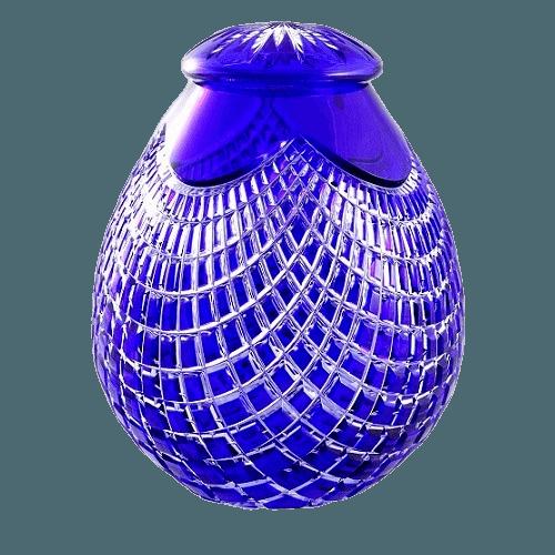 Julius Glass Cremation Urn