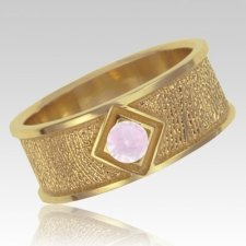 June Birthstone 14k Yellow Gold Ring Print Keepsake