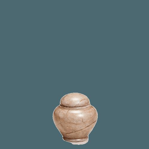 Jupiter Stone Keepsake Urn