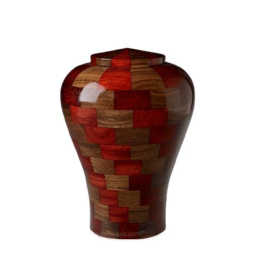Karlo Medium Wood Urn
