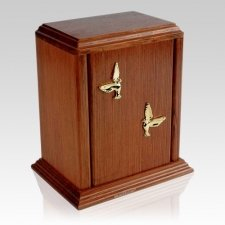 Kent Wood Cremation Urn