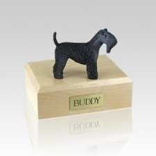 Kerry Blue Terrier Large Dog Urn
