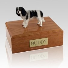 King Charles Spaniel Black Dog Urns