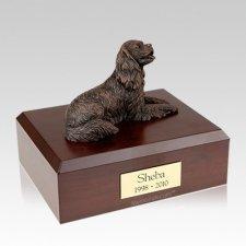 King Charles Spaniel Bronze Large Dog Urn