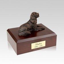 King Charles Spaniel Bronze Medium Dog Urn