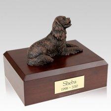 King Charles Spaniel Bronze Dog Urns