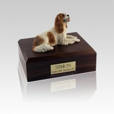 King Charles Spaniel Brown Small Dog Urn