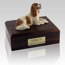 King Charles Spaniel Brown Dog Urns