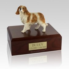 King Charles Spaniel Standing Large Dog Urn