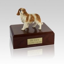 King Charles Spaniel Standing Small Dog Urn