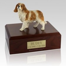 King Charles Spaniel Standing X Large Dog Urn